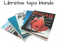 Libretas Tapa Blanda